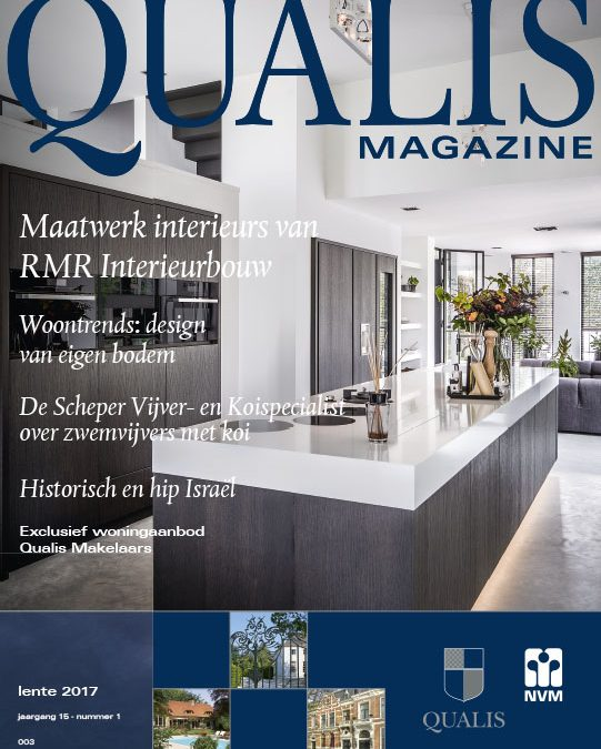 RMR Interieurbouw in Qualis Magazine
