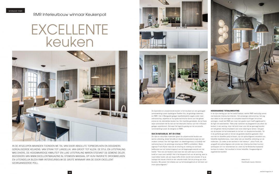 RMR Interieurbouw winnaar Excellent keuken 2018